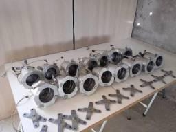 15 Canhões Refletores Par 38 C/ Porta-gelatina + Suporte (usado) comprar usado  Mauá