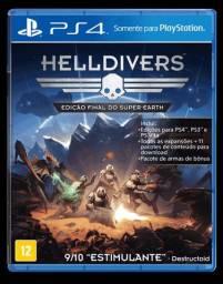 Jogo Helldivers Edição Final do Super-Earth Ps4, Origina, Lacrado, Mídia Física