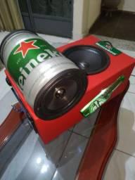 Caixa bob Heineken