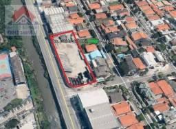 Terreno Industrial, comercial Guido Alibert 90 metros de frente São Caetano do Sul