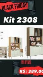 Armário de cozinha kit2308 promoção