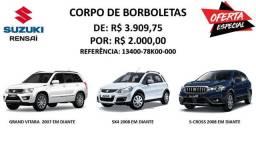 Corpo de Borboletas - Suzuki Grand Vitara, SX4 e S-Cross (Original)