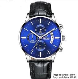 Relógio masculino importado original Chenxi Cronógrafo luxo