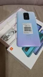Xiaomi Redmi Not 9 novo 64gb, Troco por iPhone 7, ou pego 6s Plus acima de 32gb