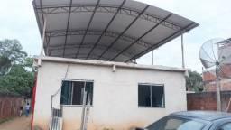 Casa com 2 quartos + suíte | Lote com 360 m² - em Bom Jesus do Bagre - Belo Oriente/MG!