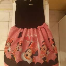 Vestidos:Minie,Lol,Turma da Monica