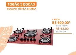 PROMOÇÃO FOGÃO 5 BOCAS