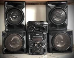 Som SONY GENEZI com 4 alto falantes