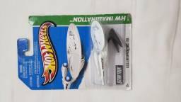 Hotweels USS ENTERPRISE da série star Trek original na embalagem para colecionadores.