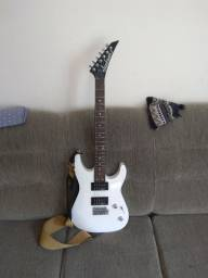 Guitarra Jackson strato nova único dono instrumento de excelente qualidade