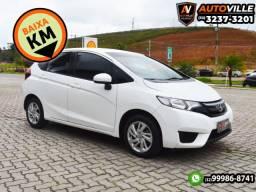 35Mil Km Rodados*Honda Fit LX 1.5 Flex Câmbio CVT*Agulha no Palheiro - 2016