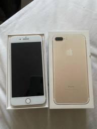 iPhone 7 Plus gold leia R$1.200