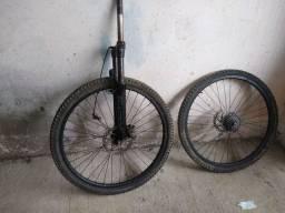 Vendo peças para bike aro 26