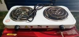 Fogão elétrico com regulagem de temperatura (dou desconto)