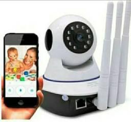 Camera Ip Baba Eletrônica Sensor de Movimento Visao Noturna