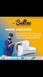 Limpeza e Higienização em ar condicionado