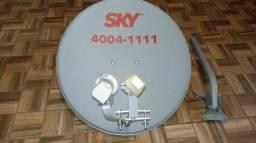 Apontamento para satélites para Sky oi TV vivo TV