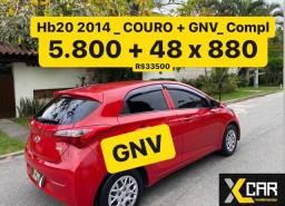 Hb 20 Confort Plus 1.0 - 2014 + GNV _ COURO _ Pouco Rodado