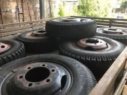 Vendo conjunto de rodas do 914 e 710