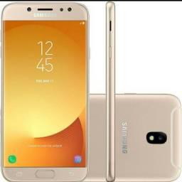Samsung J7 pro na caixa.