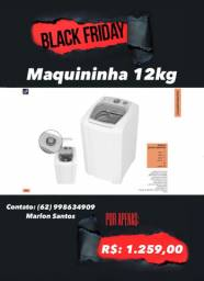 Máquina de lavar na Black Friday