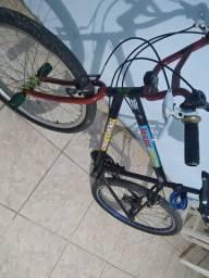 Bicicleta com macha