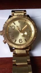 Relógio Nixon The 51-30 dourado original