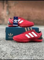 Chuteira Adidas Vermelho