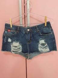 Short jeans Opcão