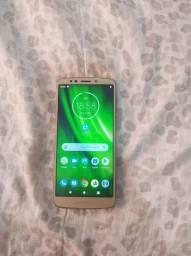 MotoG6 Play 32gb Flash frontal biometria