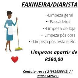 Faxineira/ Diarista