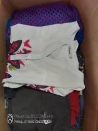 Lote de roupas primeira linha