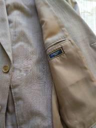 Título do anúncio: Terno Coronet 48 Calça 46 Bege Poliester