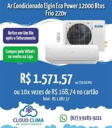 Título do anúncio: Ar Condicionado Elgin Eco Power 12mil Btus