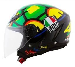 Título do anúncio: Vendo capacete agv aberto