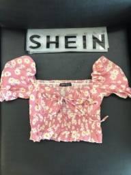 Título do anúncio: Blusinha Shein Margaridas PP