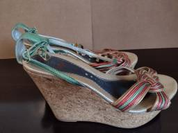 Título do anúncio: Sandália Plataforma Blitz Shoes - n 37