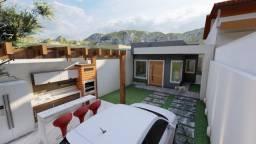 Casa na Nova São Pedro com 03 quartos, em fase pintura , com churrasqueira