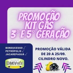 Título do anúncio: Promoção Kit Gás 3° e 5° Geração