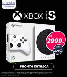 Xbox Series S lacrado zero somos loja