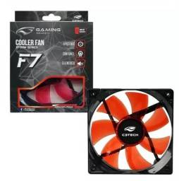 Título do anúncio: Cooler FAN C3 Tech F7-L100 RD Storm 12cm LED C3Tech
