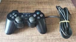 Título do anúncio: Controle original PS2 / Playstation 2 (leiam os detalhes no anúncio)