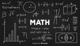 Faço Provas/Exercicios/Atividades na area da Matemática