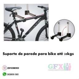 Suporte p colocar bike na parede (até 20kg)