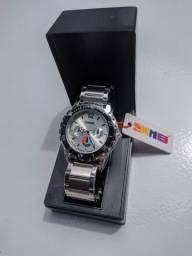 Relógio Prata Skmei