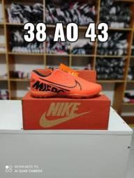 Chuteira Nike Society Laranja