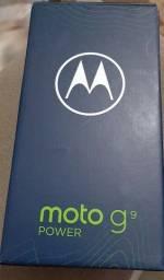Vendo Moto G9 POWER NOVO LACRADO COM NOTA FISCAL..