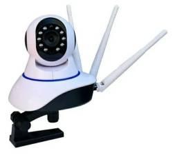 Câmera  WIFI 360 Graus 3 antenas Visão Nortuna