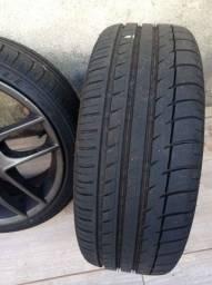 Rodas esportivas aro 17 com pneus