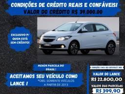 Chevrolet onix 1.4 Lt 2016 - Somos a solução para seu crédito, venha conferir!